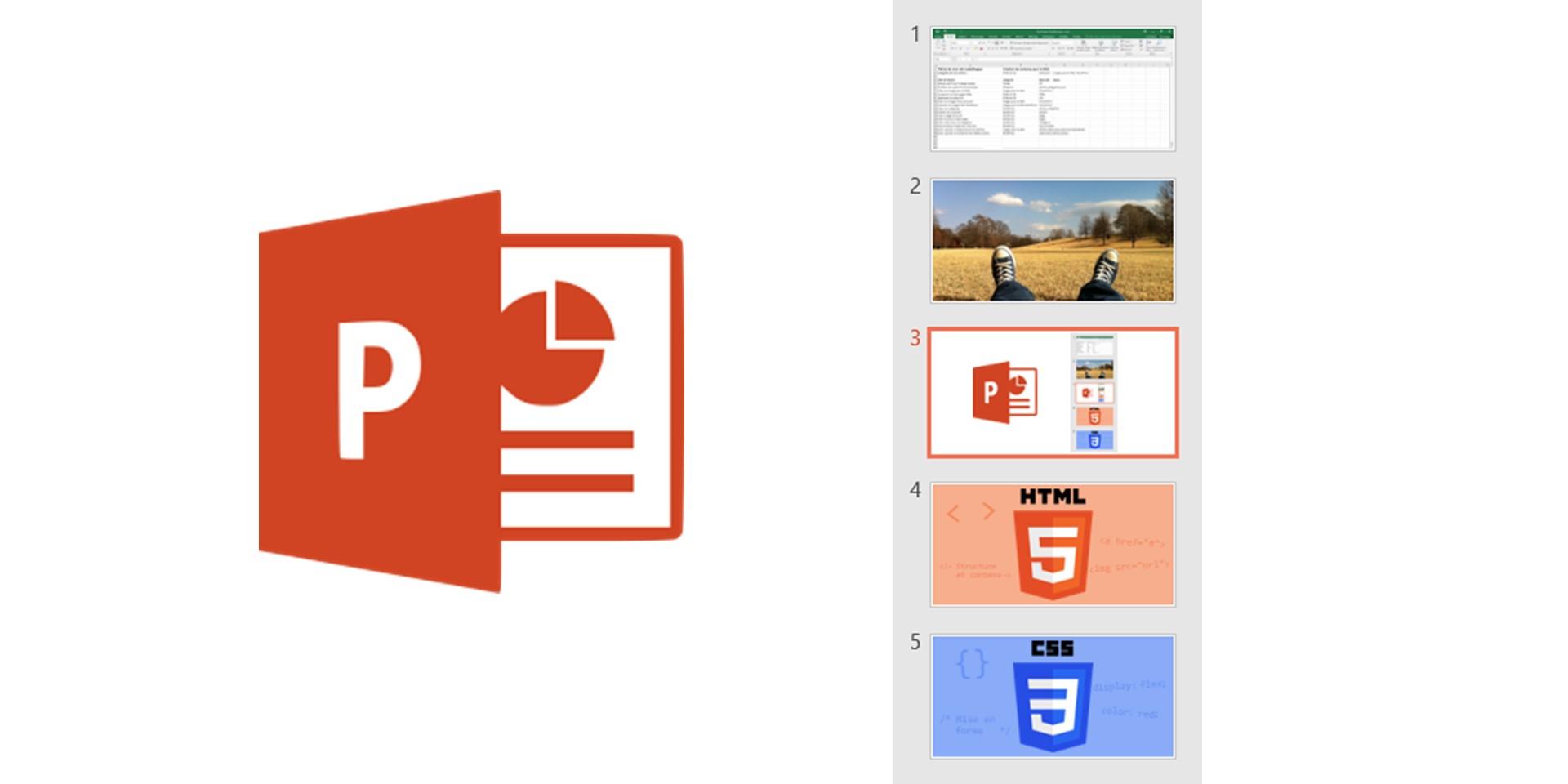 Créer vos images pour le Web avec PowerPoint